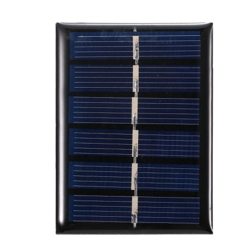 0.3W 3V Mini Solar Panel Polycrystalline Silicon Small Solar Cell DIY Waterproof Camping Portable Power Solar Panel