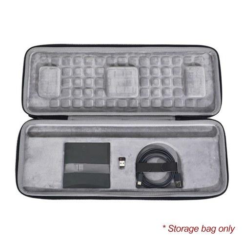 Keyboard Case Bag Wireless Keyboard Travel Portable Protection Bag for Logitech Craft Advanced