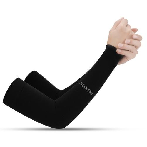Armstulpen Kühlung UV-Schutz Sonnenhülsen Lange Armabdeckung Wärmer Frauen Männer Armstulpen für Outdoor-Sportarten Laufen Golf Radfahren
