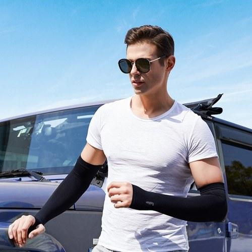 Рукава Рукава Охлаждения Защита от УФ-лучей Солнцезащитные рукава Длинные рукава Обогреватели для рук Женщины Мужчины Рукава для спорта на открытом воздухе Бег Гольф Велоспорт фото