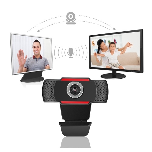 1080P Full High Definition Webcam USB 2.0 Web Camera with Microphone for PC Laptop Desktop