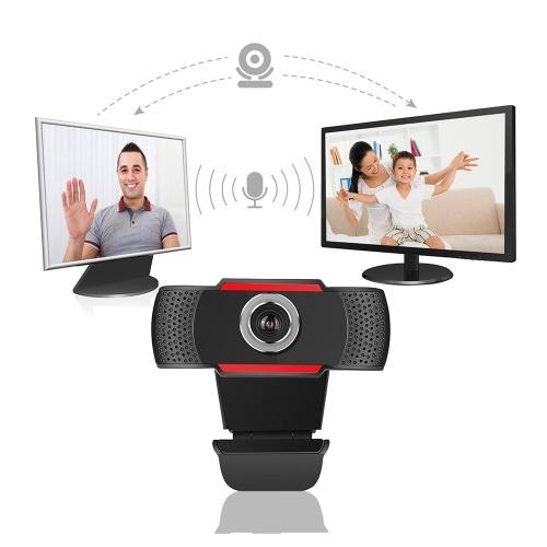 1080P Full High Definition Webcam USB 2.0 Webkamera mit Mikrofon für PC Laptop Desktop