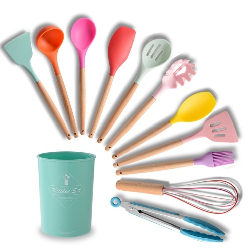 Silicone Kitchenware Set 11Pcs Kitchen Utensils Set