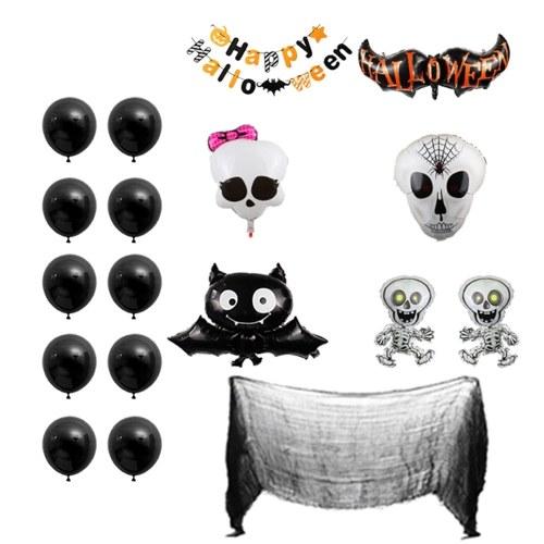 Набор баннеров с воздушными шарами на Хэллоуин из 18 шт.
