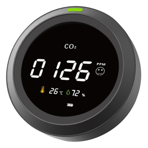 PTH-5 Carbon Dioxide Detector Carbon Dioxide Alarm with Digital Display