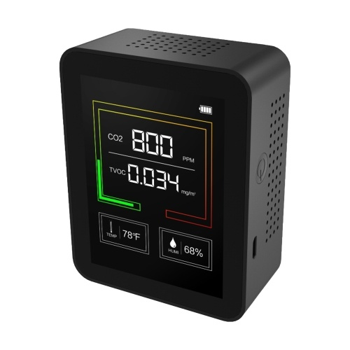 Carbon Dioxide Meter Temperature/Humidity Air Quality Monitor