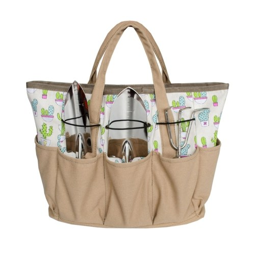 Garden Tool Tote with Multi Pockets