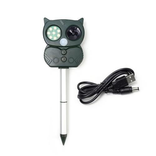 USB-устройство для вождения животных на открытом воздухе, отпугиватель солнечной энергии, пугающая машина для животных, USB-мышь, экспеллер
