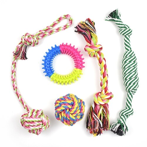 Dog Rope Toy Dog Chew Toy Puppy Teething Toys