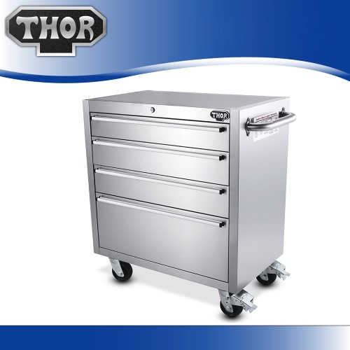 thor htc3008w-2 high quality anti-fingerprint stainless steel 30 inch high file cabinet