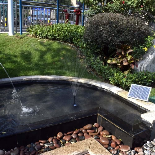 High-power Solar Landscape Fountain 17V 10W Equipment Solar Water Pump Garden Fountains Decorative Fountain
