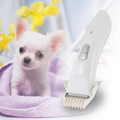 100-240V Electric Rechargeable Cordless Pet Dog Cat Clipper Hair Trimmer Hair Cutter Shaver Hairdressing Grooming Tool