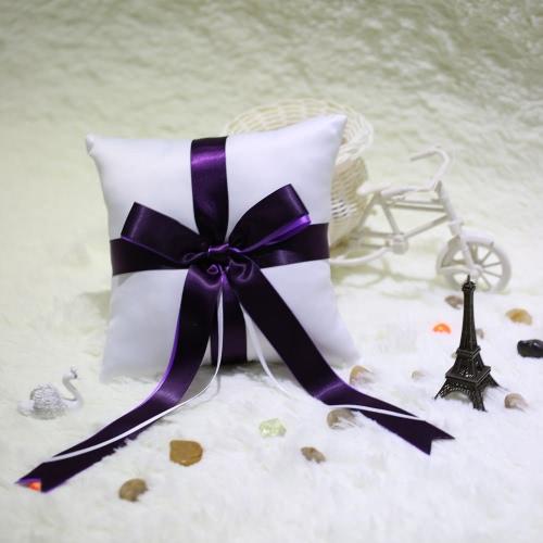 Романтический мягкой атласная обручальное кольцо подушки Awesome хорошо свадьбы поставок