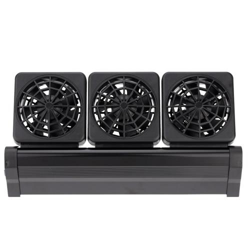 Охлаждающий вентилятор аквариум аквариум холодный ветер Чиллер регулируемый 2 уровня Ветер 100-240V