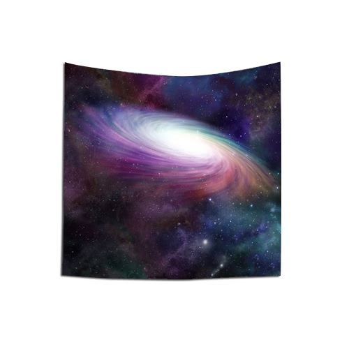 130*150cm Polyester Home Wall Decor Art Starry Sky Stars Printing Hanging Tapestry Beach Throw Towel Blanket Picnic Carpet Bedspread Tablecloth Women Fashion Clothing