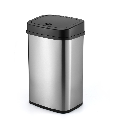 NINESTARS 3.9 Gallon Smart Sensor Touchless Trash Can Kitchen Garbage Bin Garbage Can Dust Bin Trash Bin