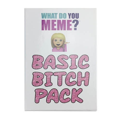 What Do You Meme Entertainment Party Cards Game Board Game Intelligence Role Playing Game Basic Bitch Pack