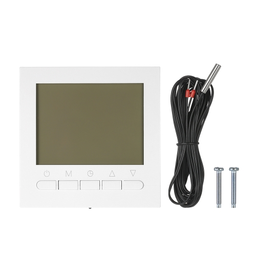 Wifi Programmable Thermostat Wifi Water Heating Smart WIFI Temperature Controller 3A 200~230V with Backlight LCD Display