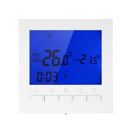 Wifi Programmable Thermostat Wifi Eau Chauffage Smart WIFI Contrôleur de Température 3A 200 ~ 230 V avec Rétro-Éclairage LCD Affichage
