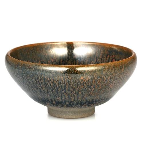Партридж перо Mottle Jianzhan Tea Cup Mini Tea Bowl Tenmoku Teacup Китайский кубок чая Kungfu Китайский народный художественный промысел Chawan из китайского винтажного стиля Glaze Teaware