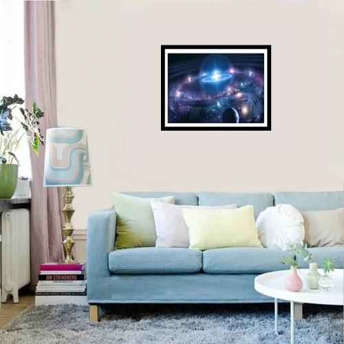 5D DIY Colorful Diamond Painting Kit Arts Crafts Universe Embroidery Cross Stitch Rhinestone Decoration Canvas Wall Home Decor