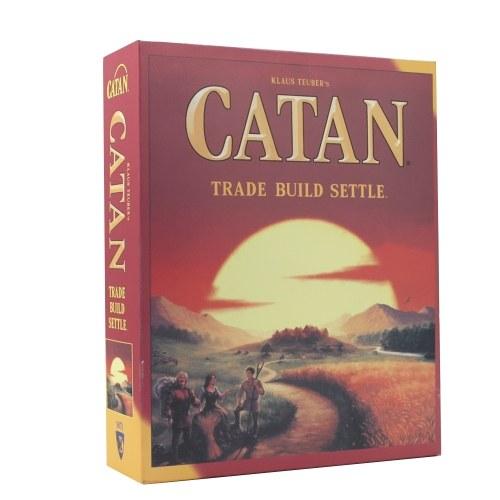 Catan Trade Build Settle Dice Game Классические настольные игры Семейные развлечения Игральные карты Обучающие темы Игровые игрушки