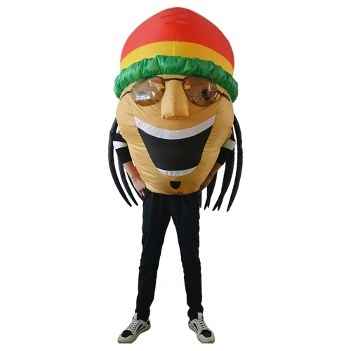 Dorośli Big Head Inflatable Costume Prop Blow Up Inflatable Fancy Dress
