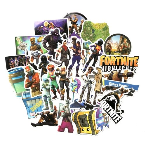 40pcs Fortress Night PVP Games Stickers