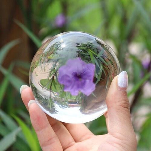 Glass Ball Artificial Crystal Healing Glass Ball