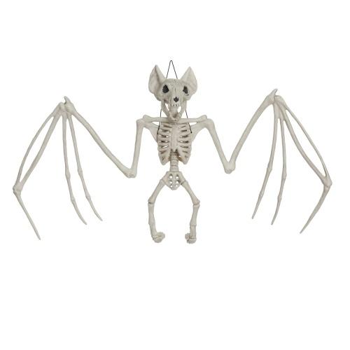 Хэллоуин скелет Подвесной костяной кость Жуткий череп животных Призрачный дом номер побег