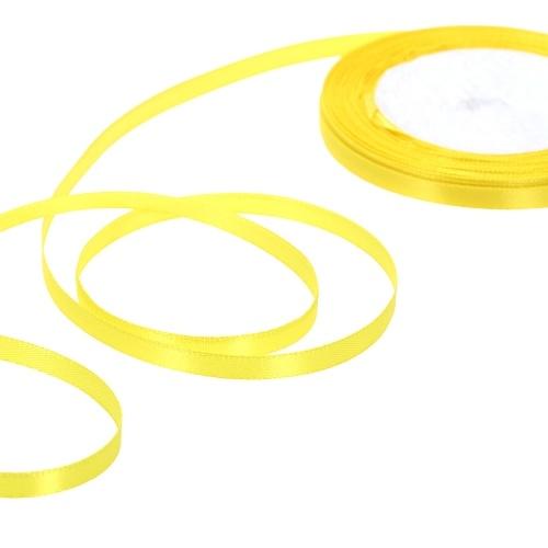 25 Yards/Roll 6mm Width Silk Satin Ribbon