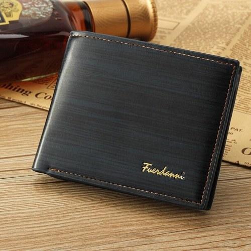 ショートビンテージPUレザー財布