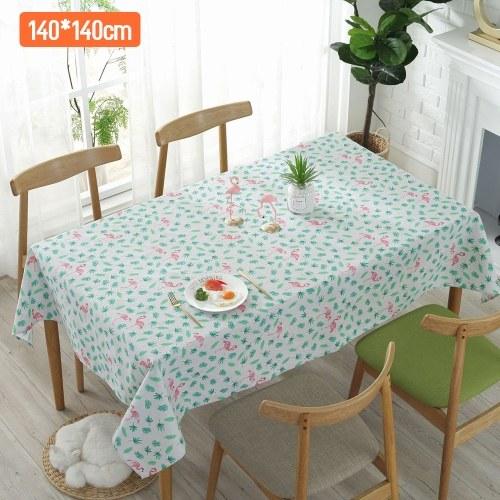 Vogel Baumwolle Leinen Tischdecke