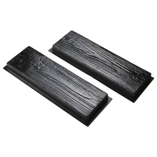 Paving Mould Rectangle Wood Pattern Brick Stone Road Path Maker Mould