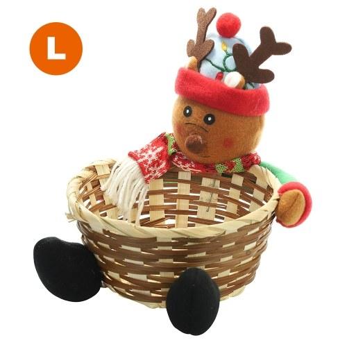 Christmas Storage Basket Candy Box фото