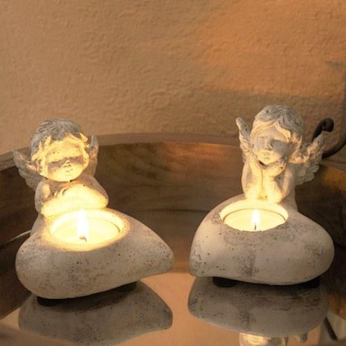 Christmas Candlestick Holders Angle Shape Candle Holder