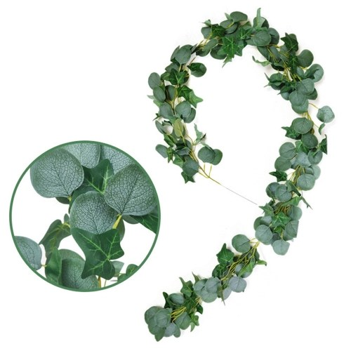 Christmas Artificial Hanging Vines Leaves фото