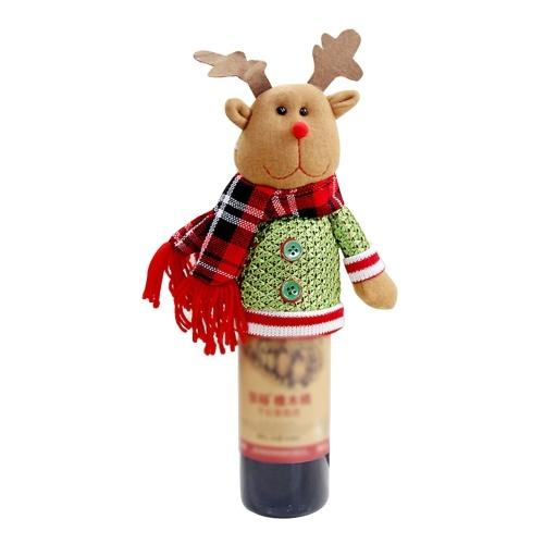 Nuevo Christmas Bottle Bottle Cover Christmas Wine Bottle Decoration