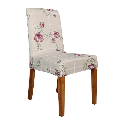 Printed Chair Cover Soft Milk Silk