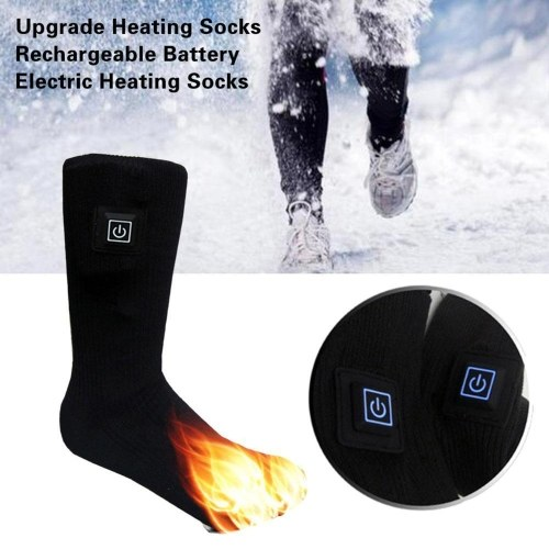 Носки с подогревом Зимние электрические аккумуляторные носки для мужчин и женщин