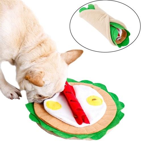 Pet Dog Snuffle Feeding Mat Snack Feeder Juego de alimentación interactiva para aburrimiento
