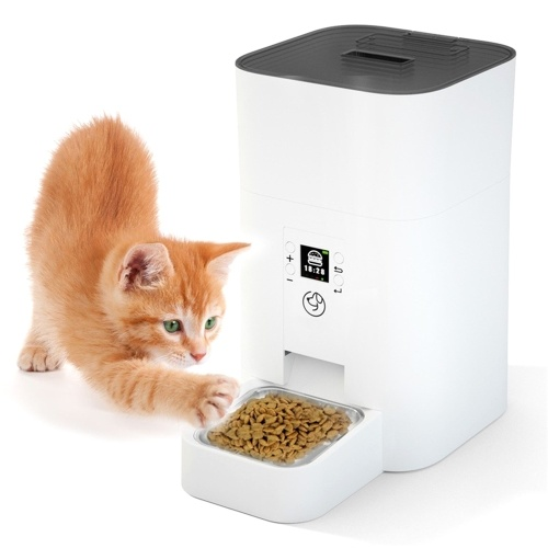 Dispensador automático de comida para mascotas 4L Pet Feeder