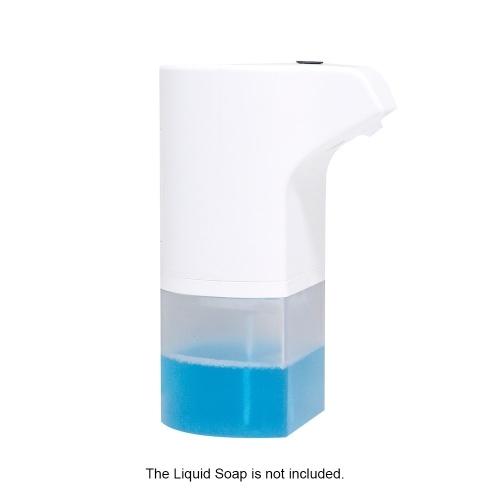 Dispensador de jabón de espuma con sensor automático de 300 ml Dispensador de espuma de inducción inteligente Dispensador de jabón líquido automático Lavador de manos sin contacto