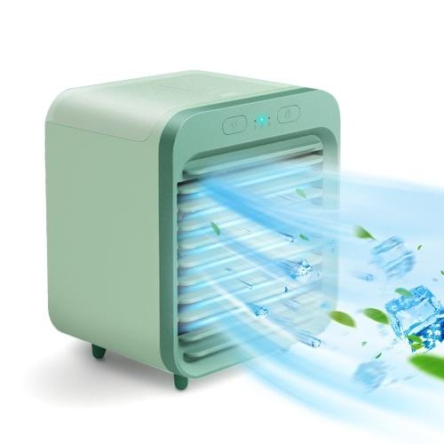 Portable Air Cooler 3 Adjustable Wind Speed Quiet Rechargeable Desktop Air Conditioner