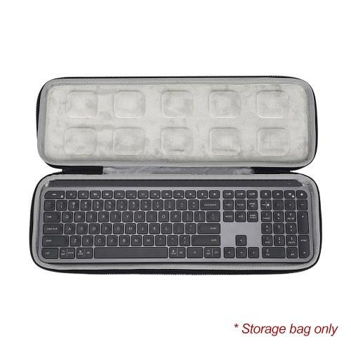 キーボードケースバッグワイヤレスキーボードトラベルポータブル保護バッグ(Logicool MXキー用)Advanced