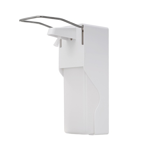 1000ml Manual Soap Dispenser Wall Mounted Elbow Pressure Soap Dispenser Large Capacity for Home Office Restaurant