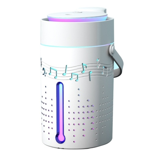 1000mL Mist Humidifier Diffuser with Bluetooth Speaker Colorful Light Quiet Humidifier Essential Oil Diffuser Auto Shut-off Top Fill Humidifier for Bedroom USB Powered Home Humidifier