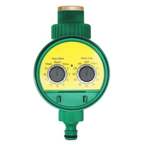Temporizador de agua analógico de dos discos