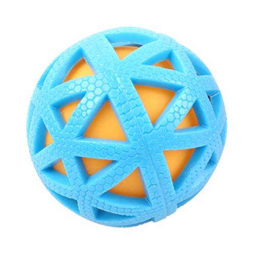 Pet Dogs Balls Chew Toy Squeaker Squeaky Sound Bite Resistant Dogs Teeth Toys