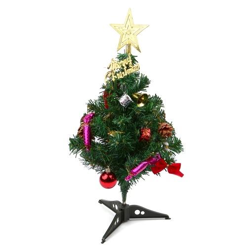 50CM Mini árbol de Navidad artificial Árbol de Navidad de mesa